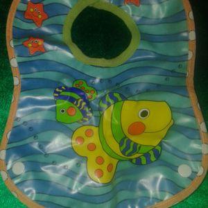 Bavette plastique impermeable bébé