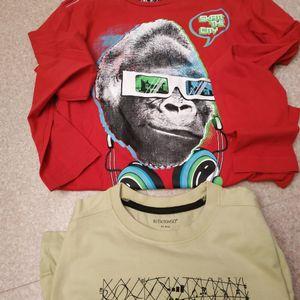 tee-shirt 12ans manches longues