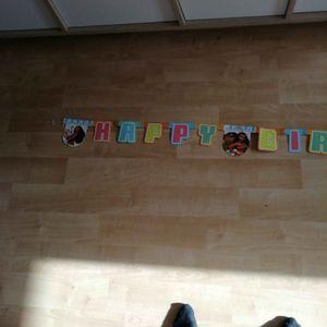Banderole anniversaire vahiana