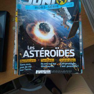 Lot de magazines Science et vie Junior
