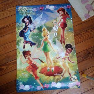 Poster fées clochette