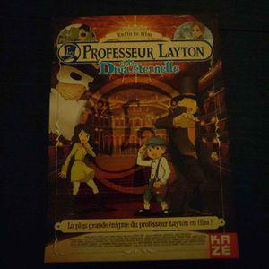 DVD : Professeur Layton et la Diva eternelle
