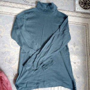tee shirt manche longue col roulé