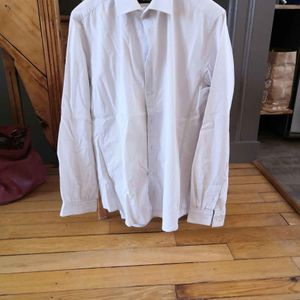 chemise beige taille M