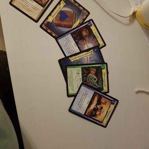 cartes Harry potter