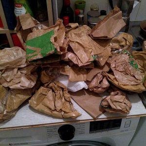 Sacs papier + plastique