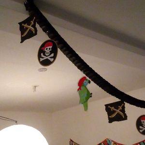 banderole déco pirate