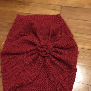 Châle fermé / tricot épaules