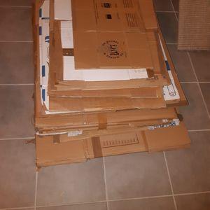 Lots de cartons de déménagement