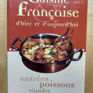 Livre de recettes cuisine française