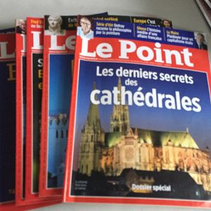 7 magazines Le Point