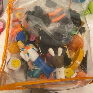 Lot petit jouets