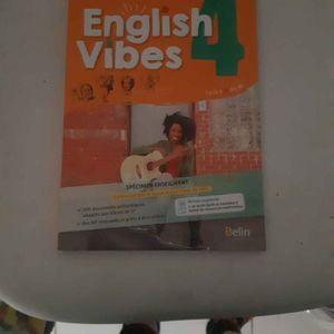 Manuel english vibes 4eme