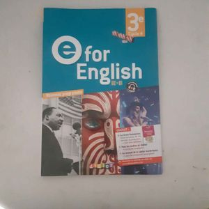 Manuel E for English 3eme