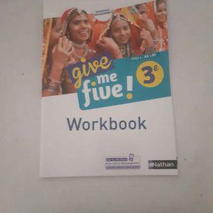 Workbook give me five! 3eme