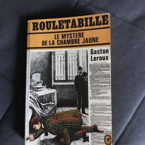 Livre de Gaston Leroux Rouletabille