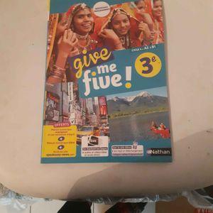 Manuel give me five 3eme