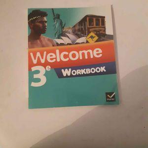 Workbook Welcome 3ème