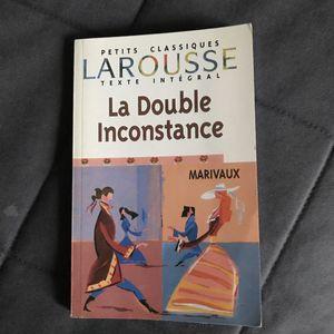 Livre de Marivaux La double Inconstance