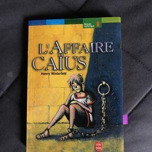 Livre de Henry Wintergeld L'affaire Caïus