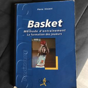Livre Basket Méthode d'entraînement