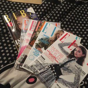 Magazines Elle + 1 Biba