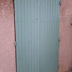 Volet en bois 2 portes