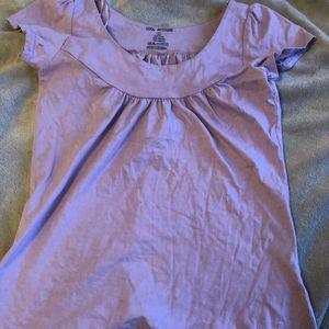 T-shirt femme violet clair