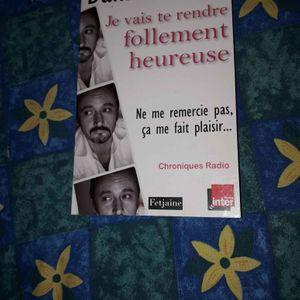Humour Livre Daniel MORIN France inter