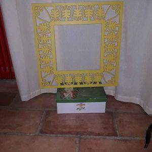 Cadre décoratif 50 sur 50 cm
