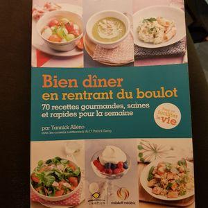 Re-Geev, un livre sur les dîners sains et rapides