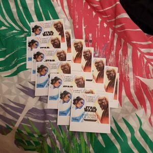 14 x 4 cartes star wars