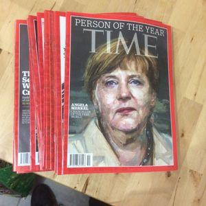 Magazine Time (en anglais) 2015-2016