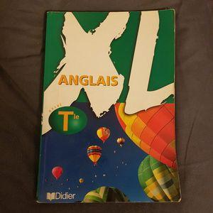 Livre d'anglais