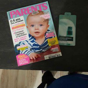 Magazine parents bébé + échantillon 1