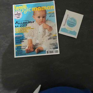 Magazine parents bébé + échantillon 4