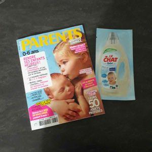 Magazine parents bébé + échantillon 5