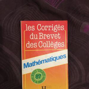 Brevet collège corrigé