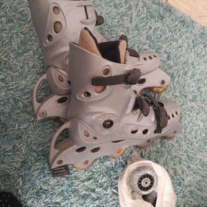 Roller un peu cassé T41