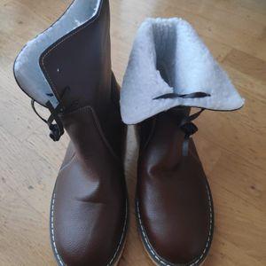 Chaussure marron d'hiver T41