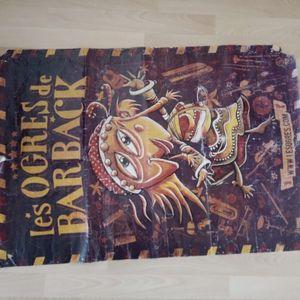 Grand poster les Ogres de Barback