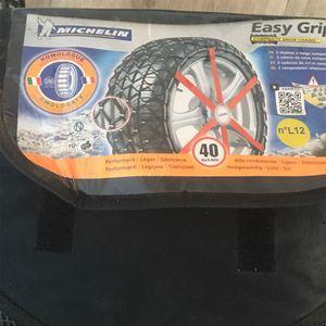 2 Chaussettes à neige Michelin Easy Grip L12