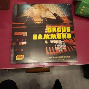Vinyl orgue 33t