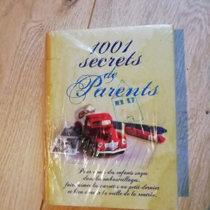 Livre 1001 secrets de parents