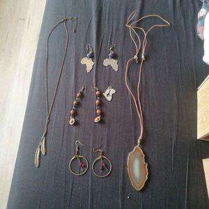 Ensemble de bijoux