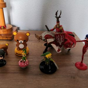 Lot de figurines
