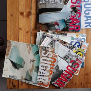 Lot de magazines Sugar (skate)