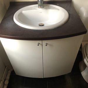 Meuble lavabo pour salle de bain