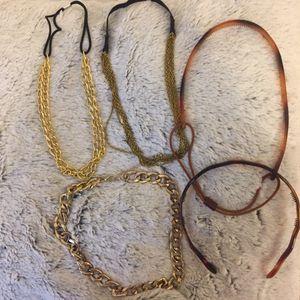 Lots de collier et serre tête
