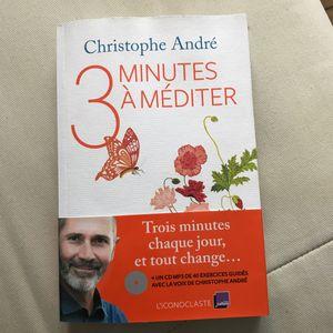 Livre de méditation avec DVD